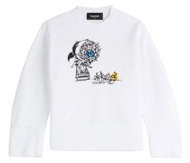 Sweater aus Baumwolle mit Print