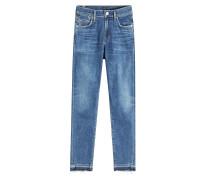 Skinny Jeans Rocket Hotline im Used Look