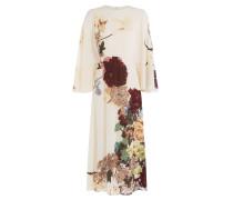Bedrucktes Seidenkleid Kimono 1997