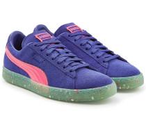 Sneakers Classic aus Veloursleder und Leder