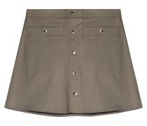 Mini-Skirt mit Knopfleiste