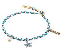 Geflochtenes Armband mit Charms