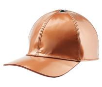 Cap aus Leder