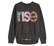 Besticktes Sweatshirt Xansel aus Baumwolle