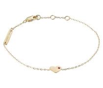 Armband Heart mit Herz-Anhänger und Kristall