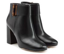 Ankle Boots \' aus Leder