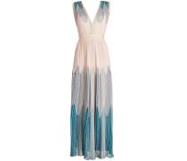 Ärmelloses Kleid mit Glitter Finish