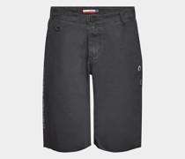 Bestickte Bermuda-Shorts