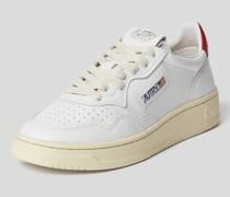 Sneaker mit Label-Details