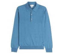 Pullover aus Baumwolle mit Kragen