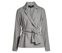 Jacke aus Leinen und Baumwolle