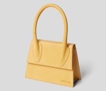 Handtasche mit Label-Detail