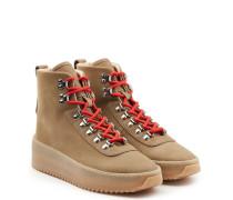 High Top Sneakers Hiking aus Leder