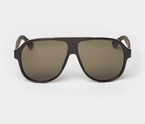 Sonnenbrille im Piloten-Stil