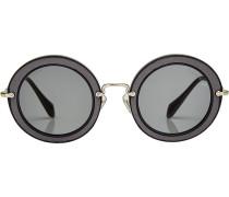 Sonnenbrille Noir mit Textil