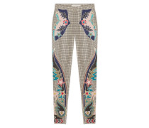 Bestickte Skinny Pants