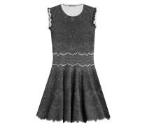 Flared-Dress aus Strick