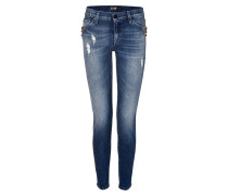The Skinny Jeans in Blue Rock Indigo