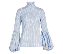 Bedruckte Bluse mit Baumwolle