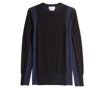 Pullover aus Merinowolle im Two-Tone-Look