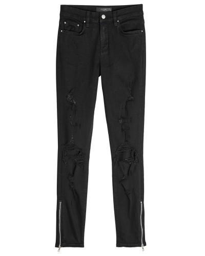 Destroyed Skinny Jeans Thrasher mit Zippern