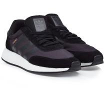 Sneakers Iniki aus Veloursleder und Mesh