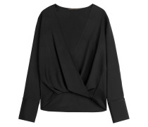 Drape-Top aus Jersey-Stretch