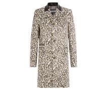 Bedruckter Mantel mit Baumwolle