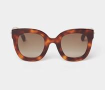 Sonnenbrille im Cat-Eye-Stil