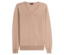 Pullover aus Wolle und Seide