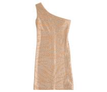 One-Shoulder-Dress mit Kristallen