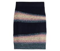 Gestreifter Strickrock aus Wolle