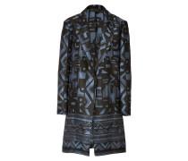 Mantel aus Baumwolle und Seide