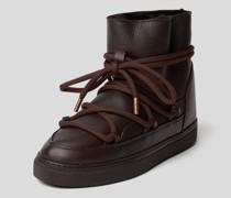 Boots mit Label-Stitching