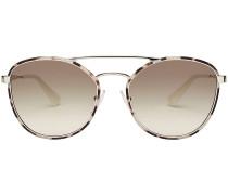 Sonnenbrille mit Metallrahmen