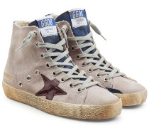 High Top Sneakers Francy aus Baumwolle