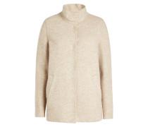 Jacke aus Yak-, Alpaka- und Schurwolle