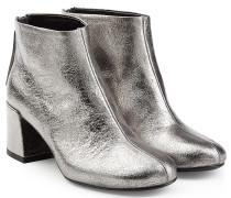 Ankle Boots Pemburry aus Metallic-Leder