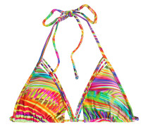 Triangel-Bikini-Top Dreamin String Siren mit Print
