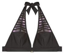 Bikini-Top mit changierenden Einsätzen