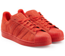 Sneakers Superstar aus perforiertem Leder