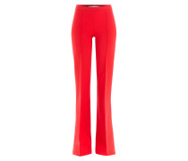 Flared-Pants aus Wolle