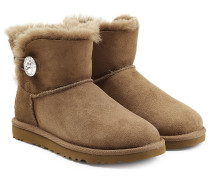 Boots Mini Bailey Bling aus Schafleder mit Kristall