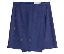 Wrap-Skirt mit Cut-Outs