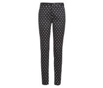Straight Leg Pants mit Polka Dots