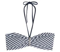 Bandeau-Bikini-Top mit Neckholder
