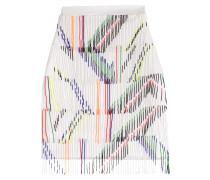 Mini-Skirt mit Perlenfransen