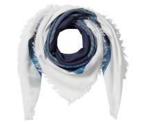 Baumwoll-Schal mit Stickmuster