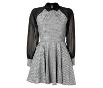 Besticktes Cocktail-Dress aus Jacquard