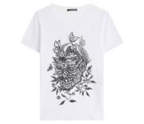 Bedrucktes Baumwoll-Shirt